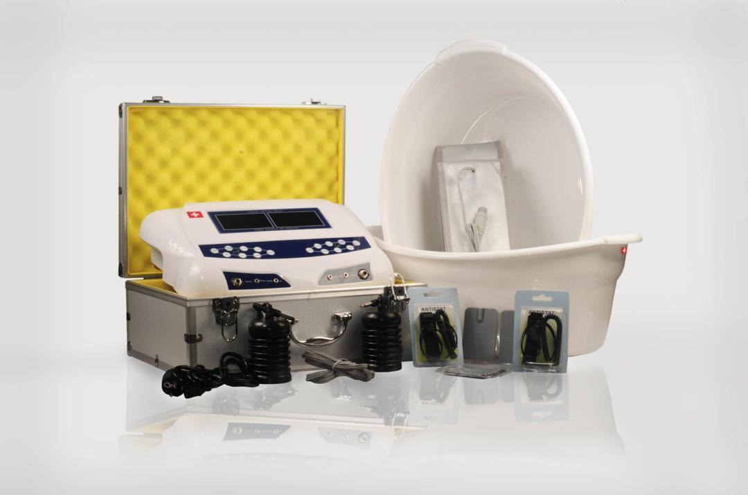 دستگاه سم زدایی به همراه فیزیوتراپی